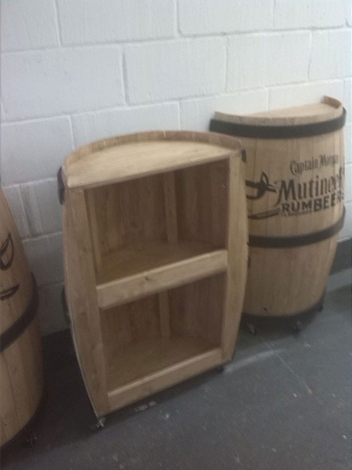 Bespoke half barrels