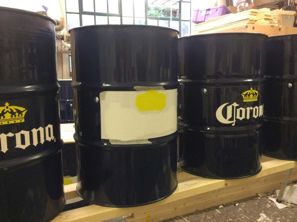 Corona Stencilling