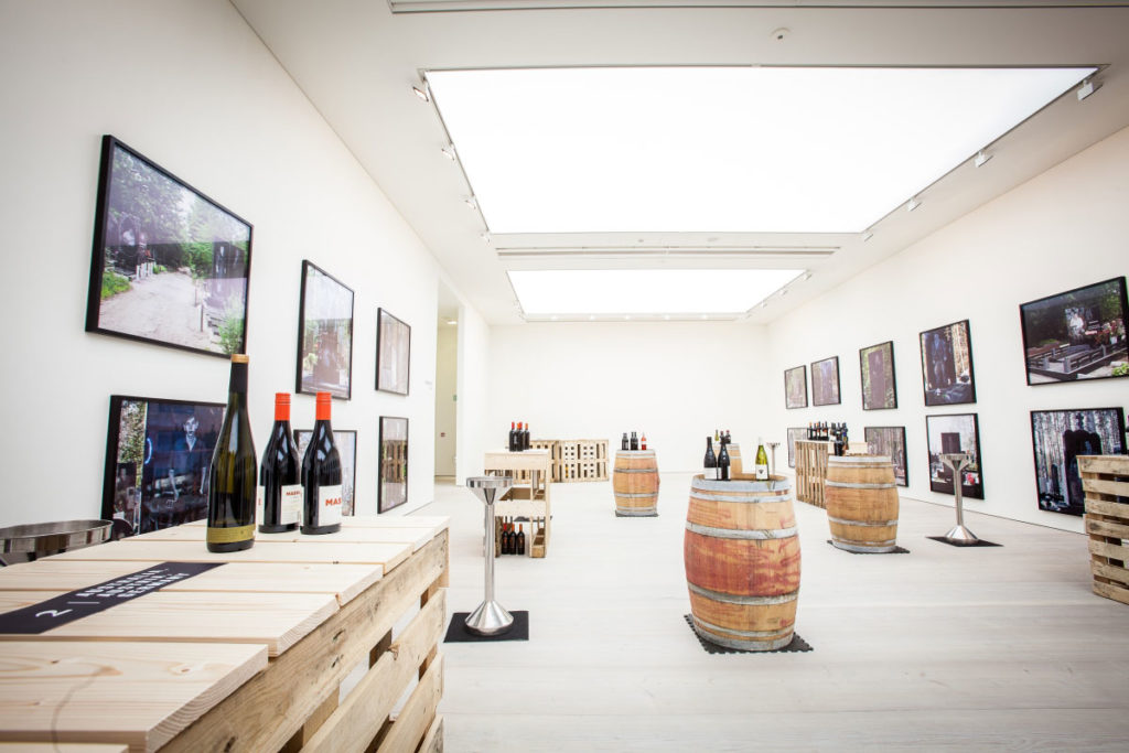 Wine event for the Saatchi Gallery