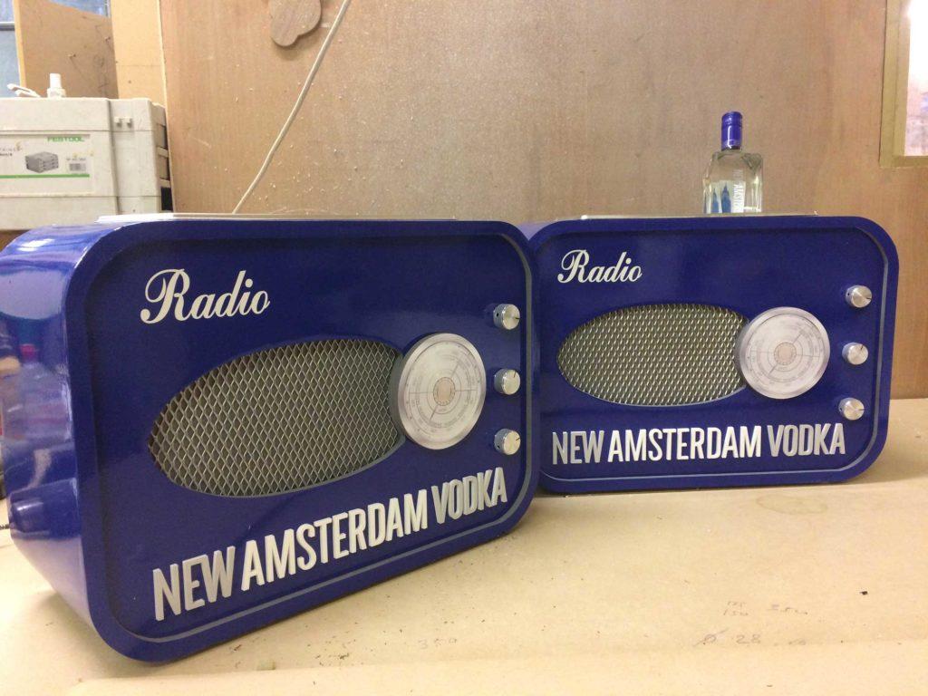 New Amsterdam Prototype ice buckets